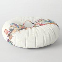 st louis missouri Floor Pillow