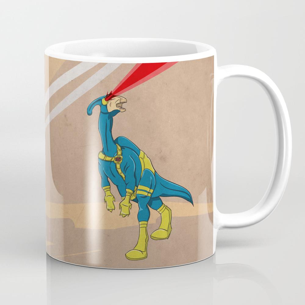 Paracyclophus - Superhero Dinosaurs Series Tea Cup by Legitimusmaximus MUG919920