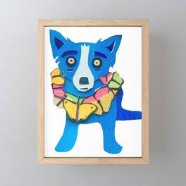 Hawaiian Blues Framed Mini Art Print