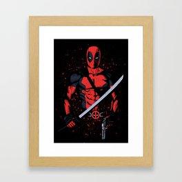 Weapons of Merc Framed Art Print