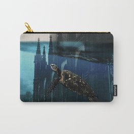 City under water Carry-All Pouch