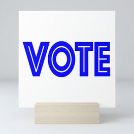 Vote Mini Art Print