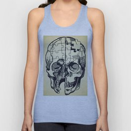 Puzzled Unisex Tank Top