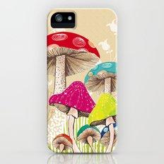 Magical Mushrooms iPhone (5, 5s) Slim Case