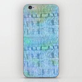 aztec by the ocean iPhone Skin