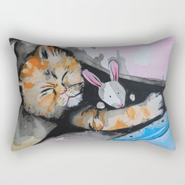Bedtime story Rectangular Pillow
