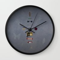 fringe Wall Clocks featuring Fringe by avoid peril