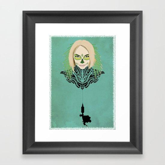 Teya Framed Art Print