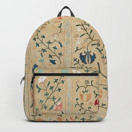 Uzbekistan Suzani Nim Embroidery Print Backpack