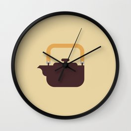 Japan Teapot Wall Clock