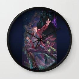 Guardians Of The Galaxy Wall Clock