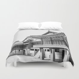 The King's Bed Chambers_Changdeokgung Palace Duvet Cover