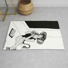 Another Black Day Rug