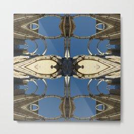 Castle fractal II Metal Print