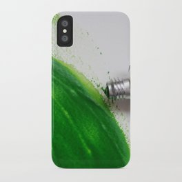 Painting Green #4 iPhone Case
