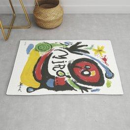 Joan Miró Tres Livres 1957 Artwork for Prints Posters Tshirts Bags Women Men Rug