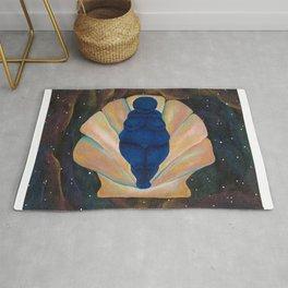 Venus in Space Rug