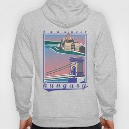 Budapest, Bridge, vintage colors Hoody