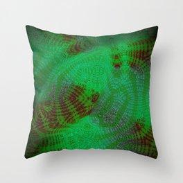 Greener Pattern 11 Throw Pillow