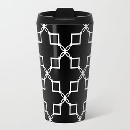 "Art Deco."" Laura  "" Black background . Travel Mug"