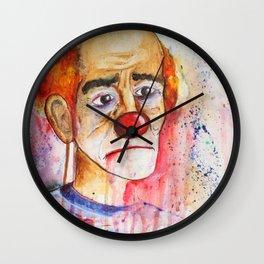 Le Clown de Joie-Ville Wall Clock