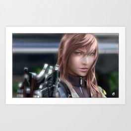 Lightning - Final Fantasy XVIII Art Print