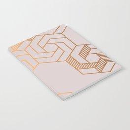Hex 612 Copper Notebook