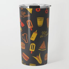 Kiss the Cook - Dark Palette Travel Mug