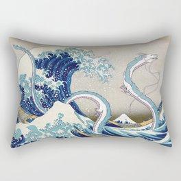 Haku and the Great Wave Rectangular Pillow