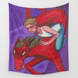 Mood Rider Wall Tapestry