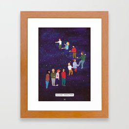Imaginary Stairway to Heaven Framed Art Print