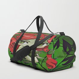 Ivy The Queen Of Green Duffle Bag