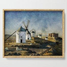 Windmills of Castilla la Mancha Serving Tray