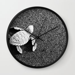 Guatemala - Sea Turtle to the Sea Wall Clock