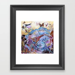 View of the Heart Framed Art Print