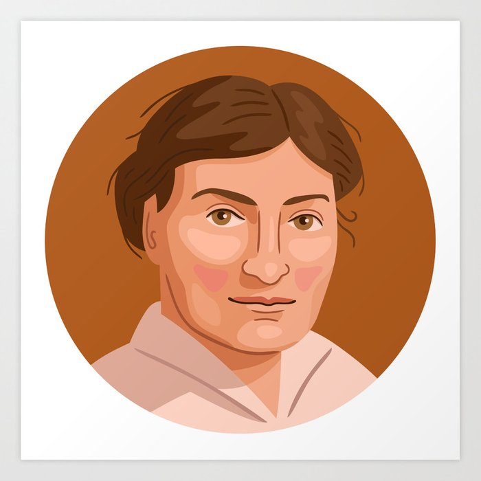 Queer Portrait - Willa Cather Art Print