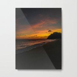 Sunset Cabo Metal Print