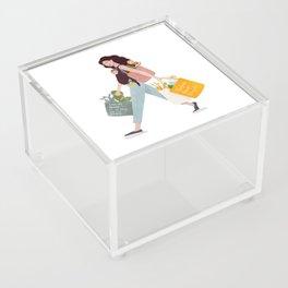 Weekend errands Acrylic Box