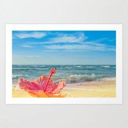 peace love and aloha Art Print