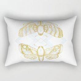 Polillas - Gold Rectangular Pillow