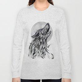 Moon Howl Long Sleeve T-shirt