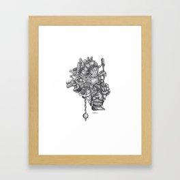 This Beating Heart Framed Art Print