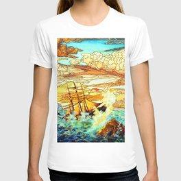 Da Loria Norman Shipwreck T-shirt