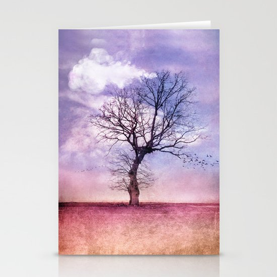 ATMOSPHERIC TREE | Early Spring Stationery Cards