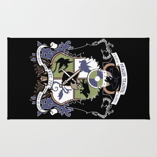 Dragon Training Crest - How to Train Your Dragon Rug