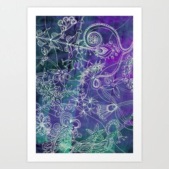 Insidious Flowers Art Print