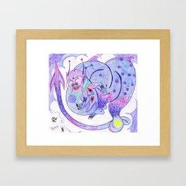 Buddah's Dragon Framed Art Print