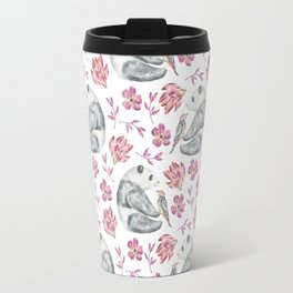 bear pattern (5) Travel Mug