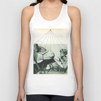 hologram Tank Tops featuring Exhibit A by Natalie Bessell