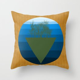 Forestation Throw Pillow